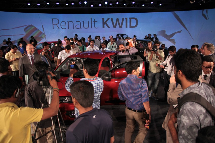 Renault Kwid officially launched in India – from RM17k Image #384476