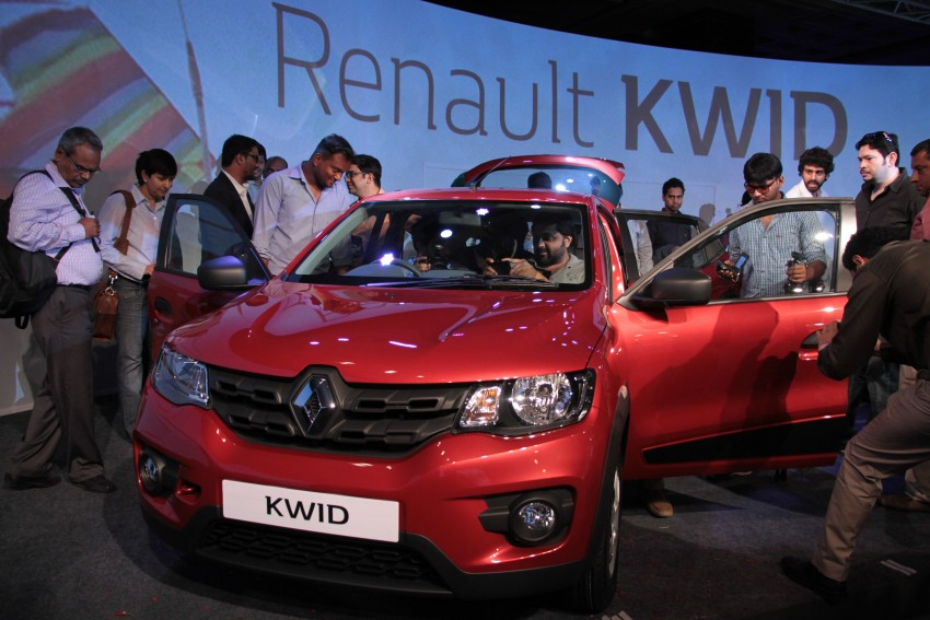 Renault Kwid officially launched in India – from RM17k Image #384477