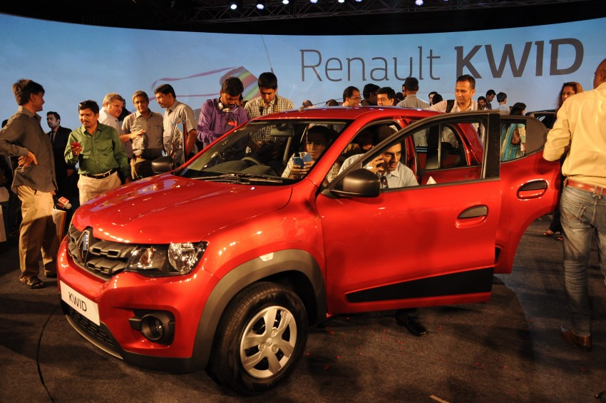 Renault Kwid officially launched in India – from RM17k Image #384478