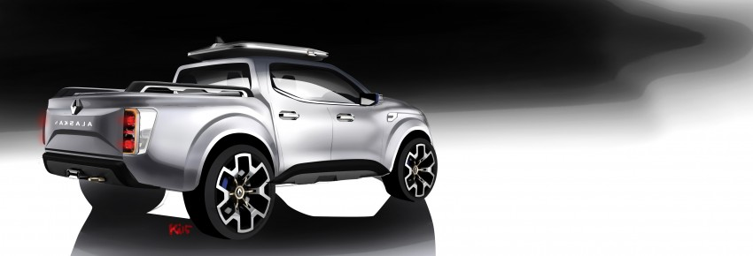 Renault Alaskan pick-up truck concept unveiled; Frankfurt debut – it's a French Nissan NP300 Navara! Image #375392