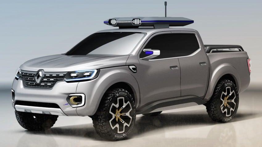 Renault Alaskan pick-up truck concept unveiled; Frankfurt debut – it's a French Nissan NP300 Navara! Image #375395