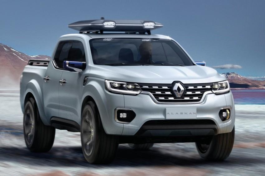 Renault Alaskan pick-up truck concept unveiled; Frankfurt debut – it's a French Nissan NP300 Navara! Image #375415