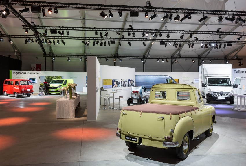 Renault Alaskan pick-up truck concept unveiled; Frankfurt debut – it's a French Nissan NP300 Navara! Image #375417