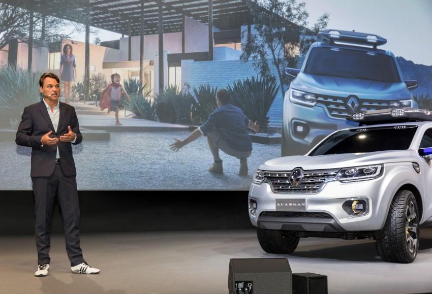 Renault Alaskan pick-up truck concept unveiled; Frankfurt debut – it's a French Nissan NP300 Navara! Image #375421
