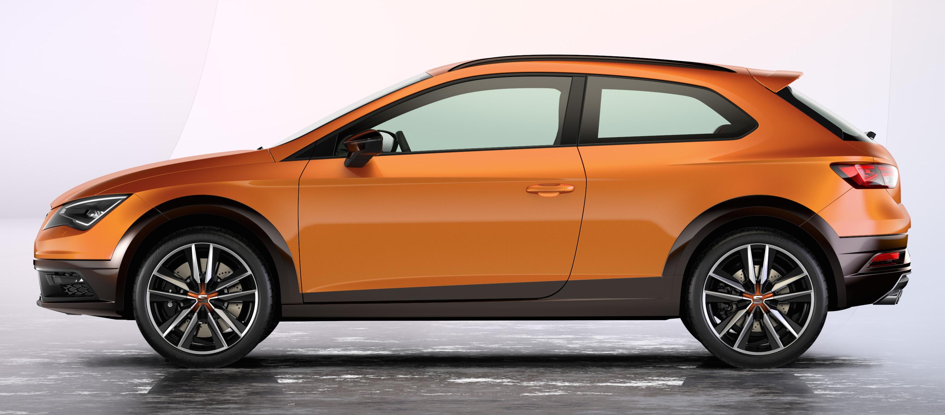 Frankfurt 2015: Seat Leon Cross Sport concept debuts Paul ...