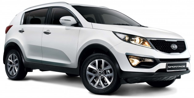 Sportage-2WD-front side view