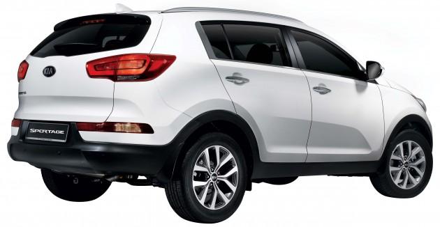 Sportage-2WD-rear side view