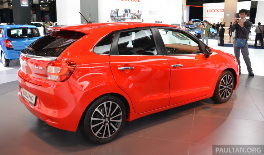Suzuki unveils all-new Baleno, sales in Europe by 2016 Image #380436