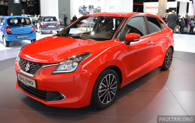 suzuki unveils the all new baleno with sales in europe to begin in spring of 2016. Black Bedroom Furniture Sets. Home Design Ideas