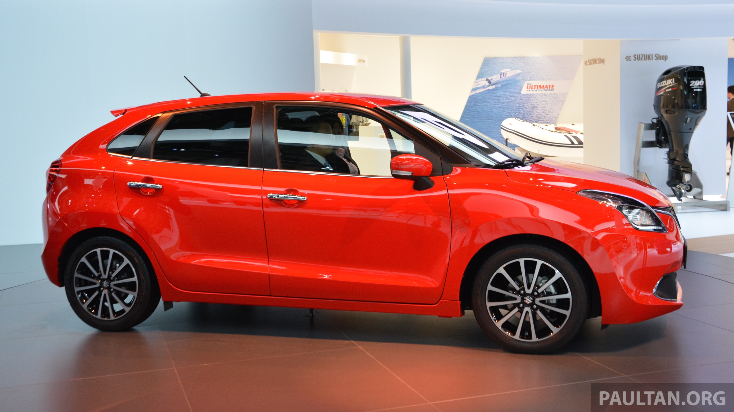 Suzuki Unveils All New Baleno Sales In Europe By 2016
