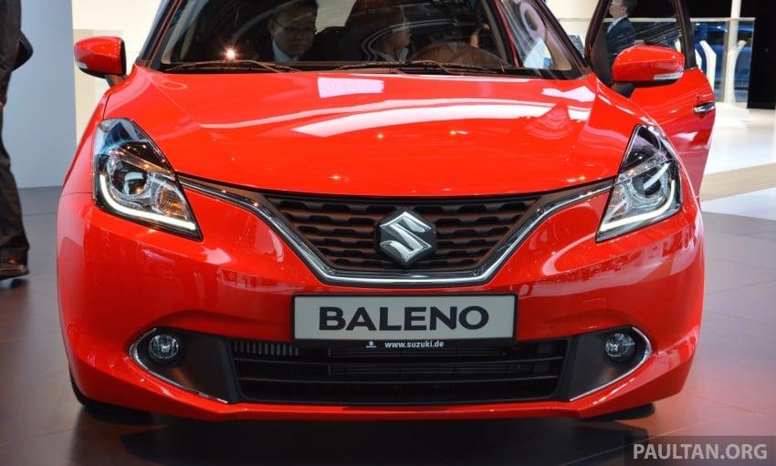 Suzuki unveils all-new Baleno, sales in Europe by 2016 Image #380426