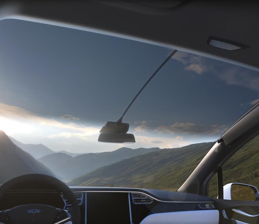 Tesla Model X finally debuts – three-row SUV detailed Image #385577