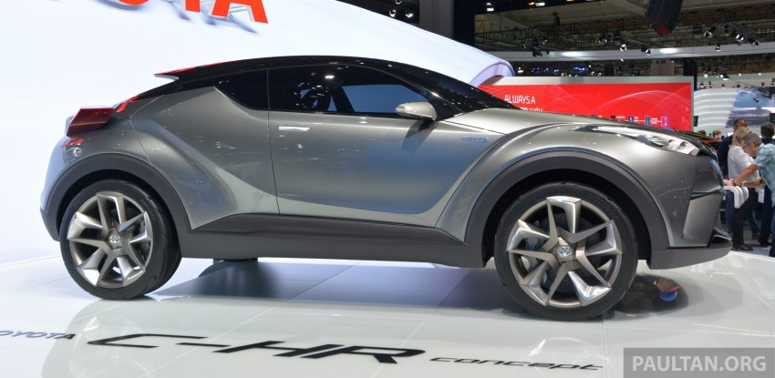 Frankfurt 2015: Toyota C-HR Concept now with five doors – production SUV to debut at Geneva 2016 Image #381043