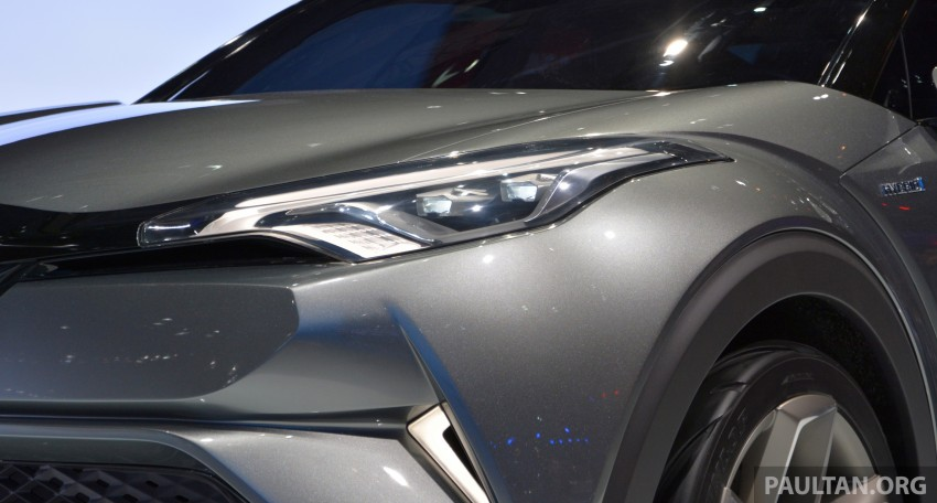 Frankfurt 2015: Toyota C-HR Concept now with five doors – production SUV to debut at Geneva 2016 Image #381040