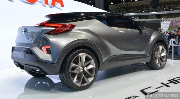 Toyota C-HR Frankfurt 15