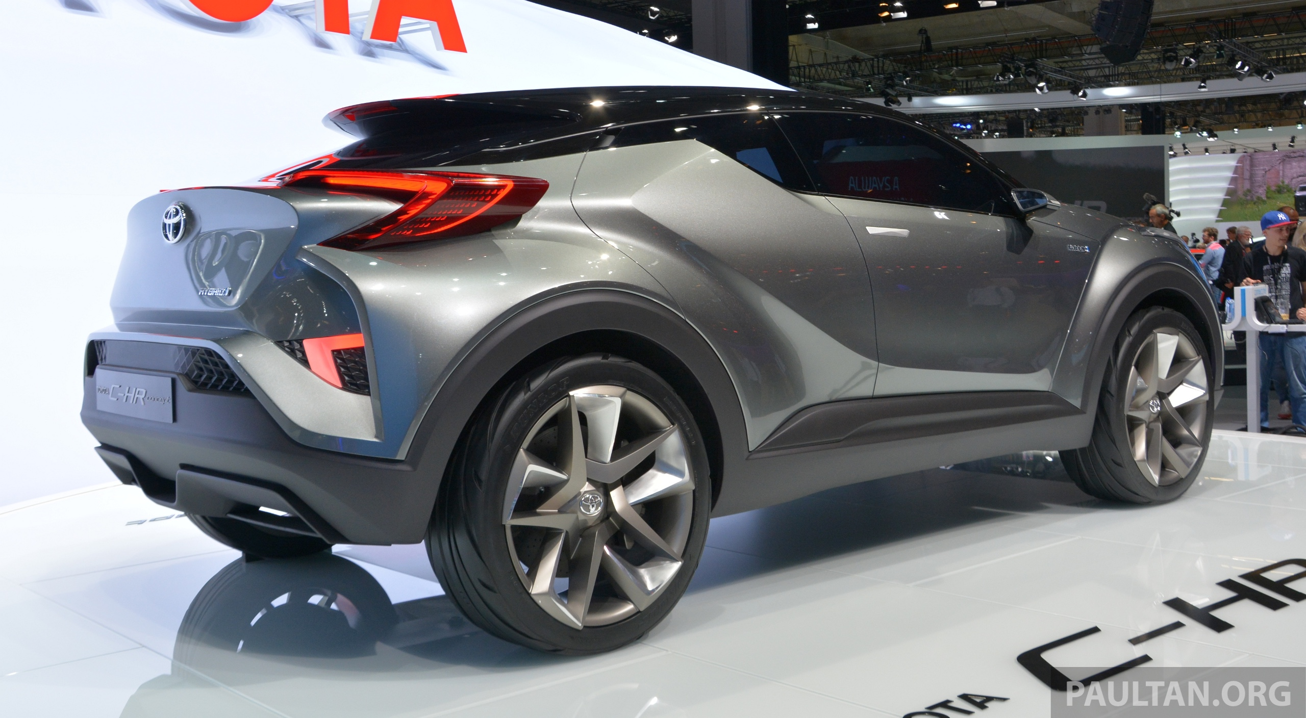 Frankfurt 2015: Toyota C-HR Concept now with five doors – production SUV to debut at Geneva 2016 ...