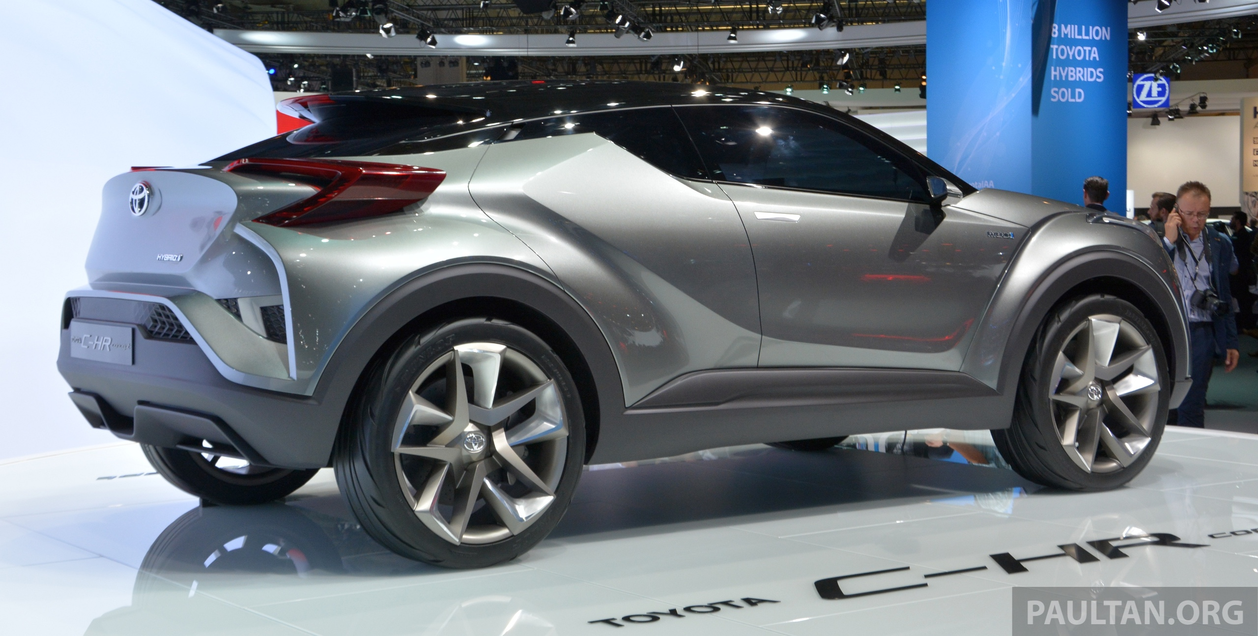Frankfurt 2015 Toyota C Hr Concept Now With Five Doors