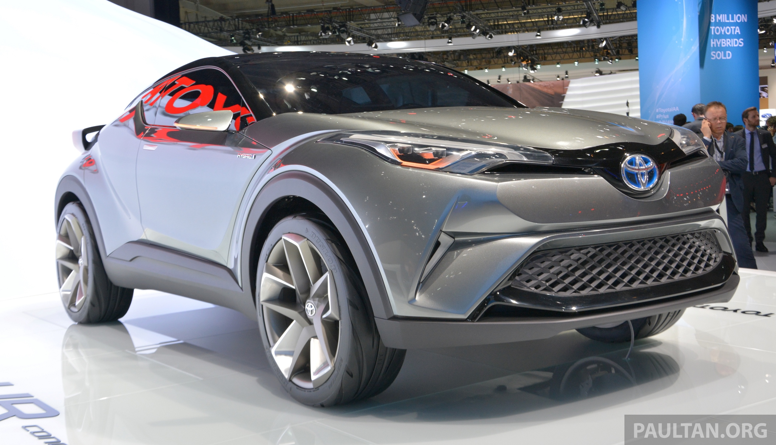 to debut c toyota doors at frankfurt with hr five concept now production geneva suv