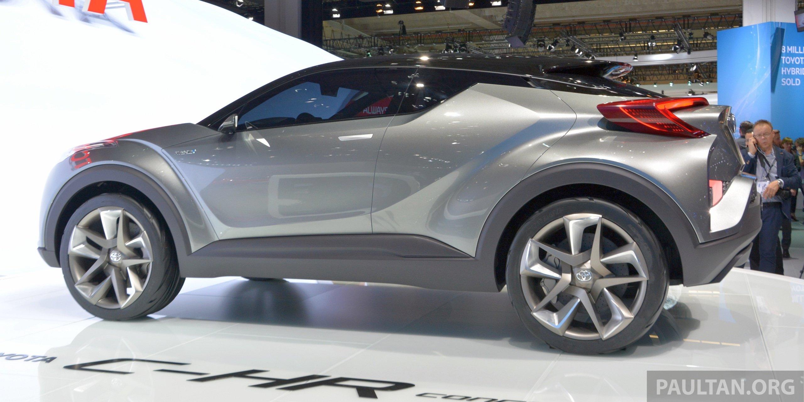 Frankfurt 2015 Toyota C Hr Concept Now With Five Doors