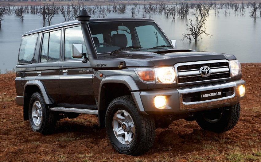 Toyota Land Cruiser 70 set to be 5-star ANCAP-rated Paul ...