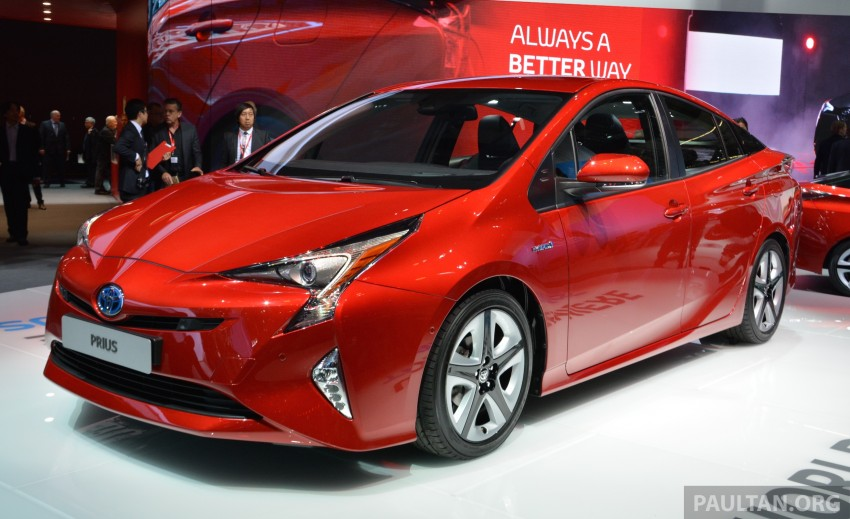 GALLERY: Toyota Prius – 4th-gen on show in Frankfurt Image #383244