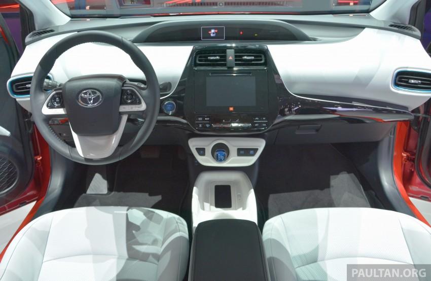 GALLERY: Toyota Prius – 4th-gen on show in Frankfurt Image #383256