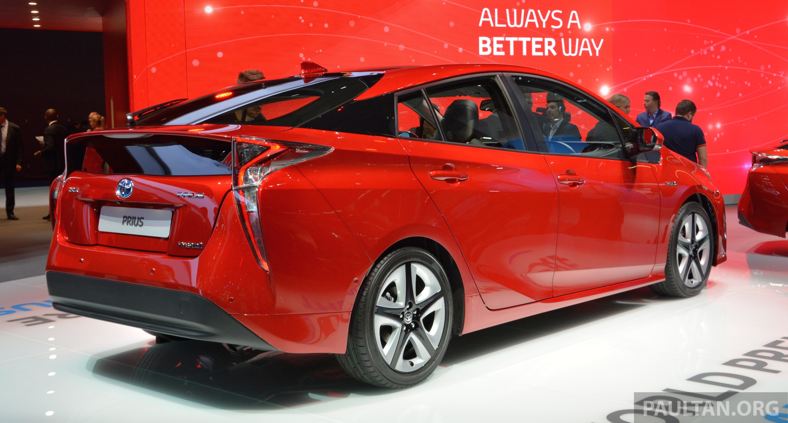 Gallery Toyota Prius 4th Gen On Show In Frankfurt Image