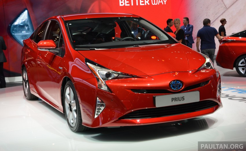 GALLERY: Toyota Prius – 4th-gen on show in Frankfurt Image #383251