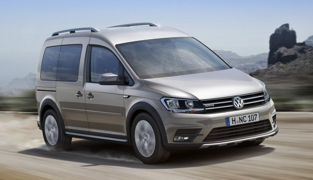 Volkswagen Caddy Alltrack 4motion With 4x4 Looks