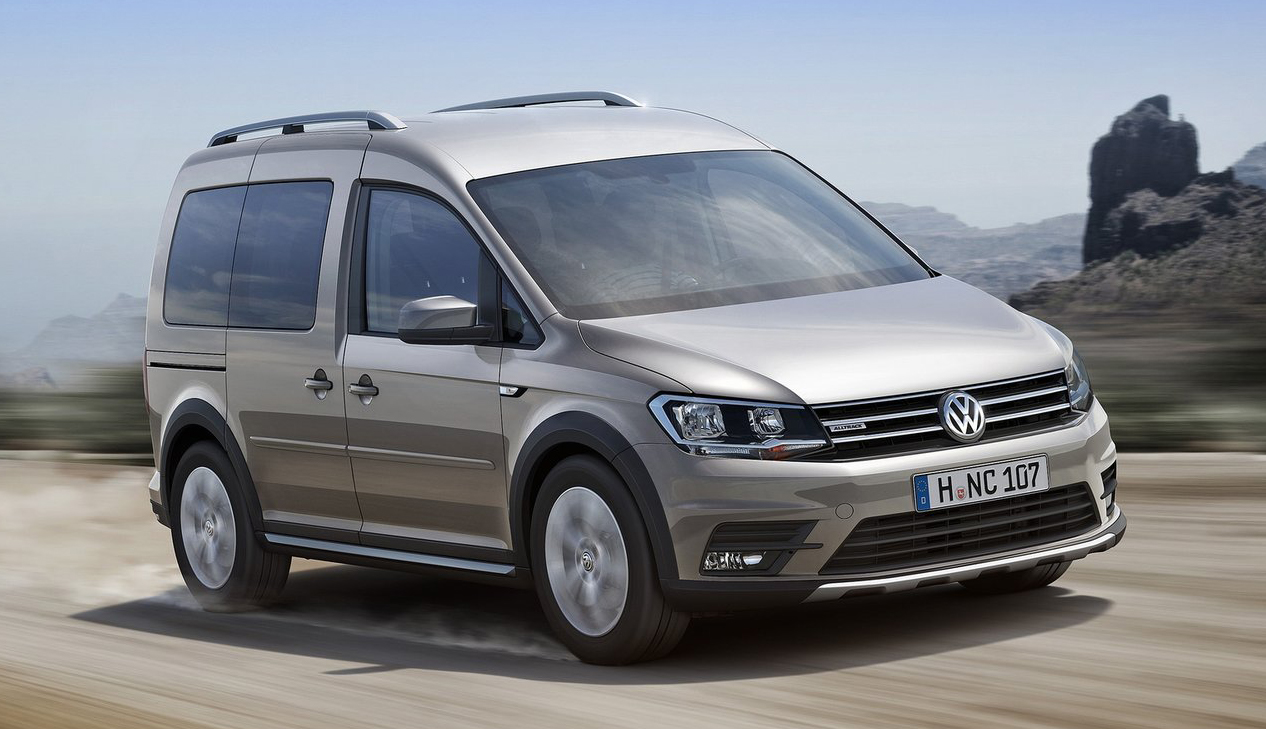 volkswagen caddy alltrack 4motion with 4x4 looks. Black Bedroom Furniture Sets. Home Design Ideas