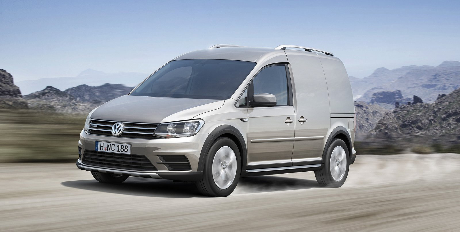 volkswagen caddy alltrack 4motion with 4x4 looks image. Black Bedroom Furniture Sets. Home Design Ideas