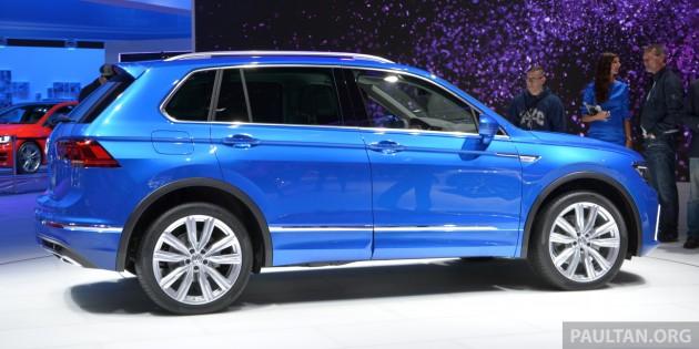 VW Tiguan Frankfurt 2