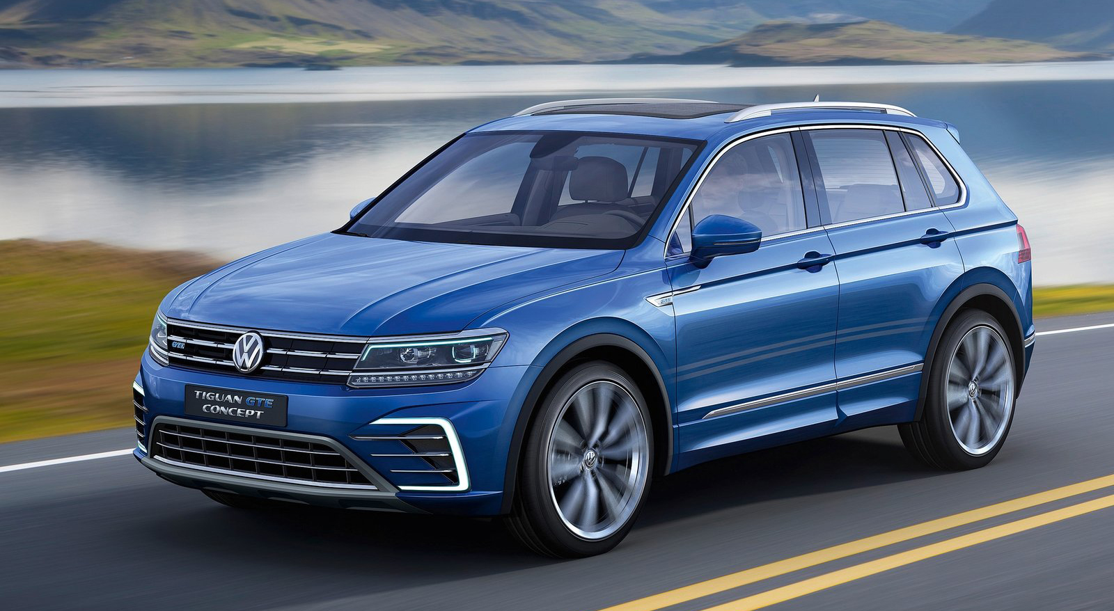 frankfurt 2015 volkswagen tiguan gte plug in hybrid. Black Bedroom Furniture Sets. Home Design Ideas