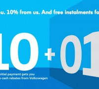 Volkswagen Malaysia Cash Rebate and One year instalment