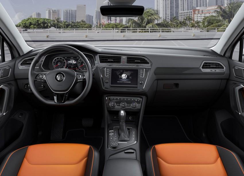 New Volkswagen Tiguan SUV unveiled in Frankfurt Image #379025