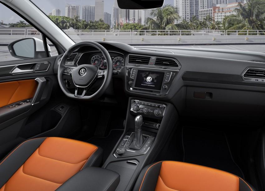 New Volkswagen Tiguan SUV unveiled in Frankfurt Image #379026