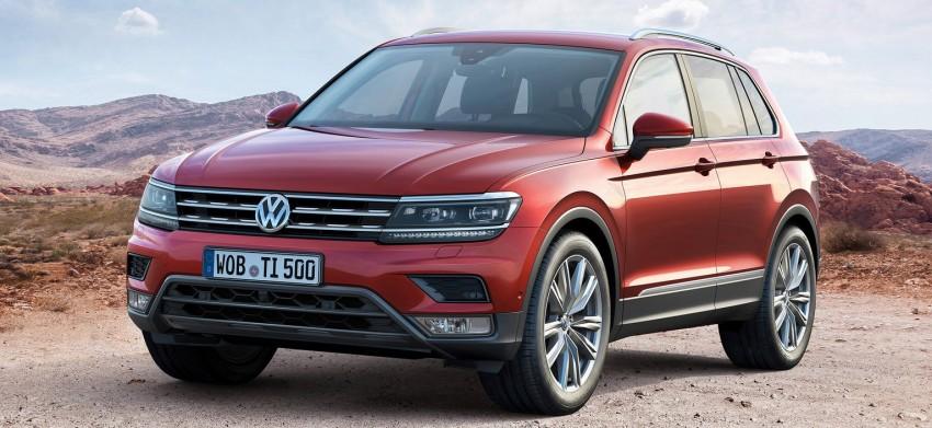 New Volkswagen Tiguan SUV unveiled in Frankfurt Image #379028