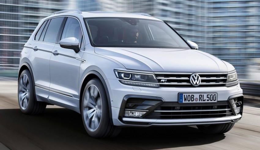 New Volkswagen Tiguan SUV unveiled in Frankfurt Image #379029