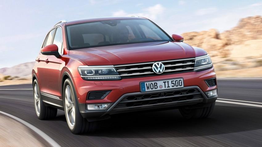 New Volkswagen Tiguan SUV unveiled in Frankfurt Image #379031