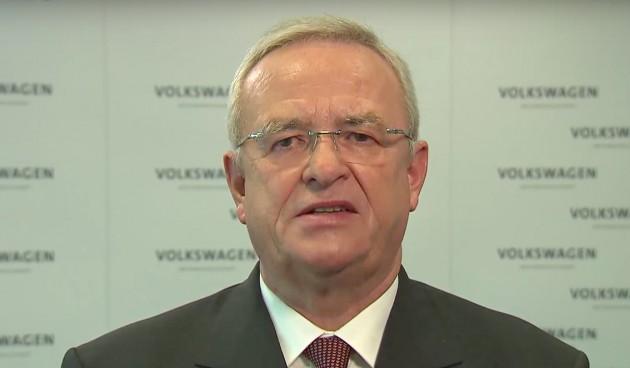 Volkswagen Winterkorn apology video screenshot