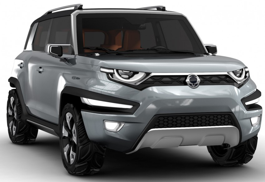 SsangYong XAV-Adventure previews future Korando Image #380813