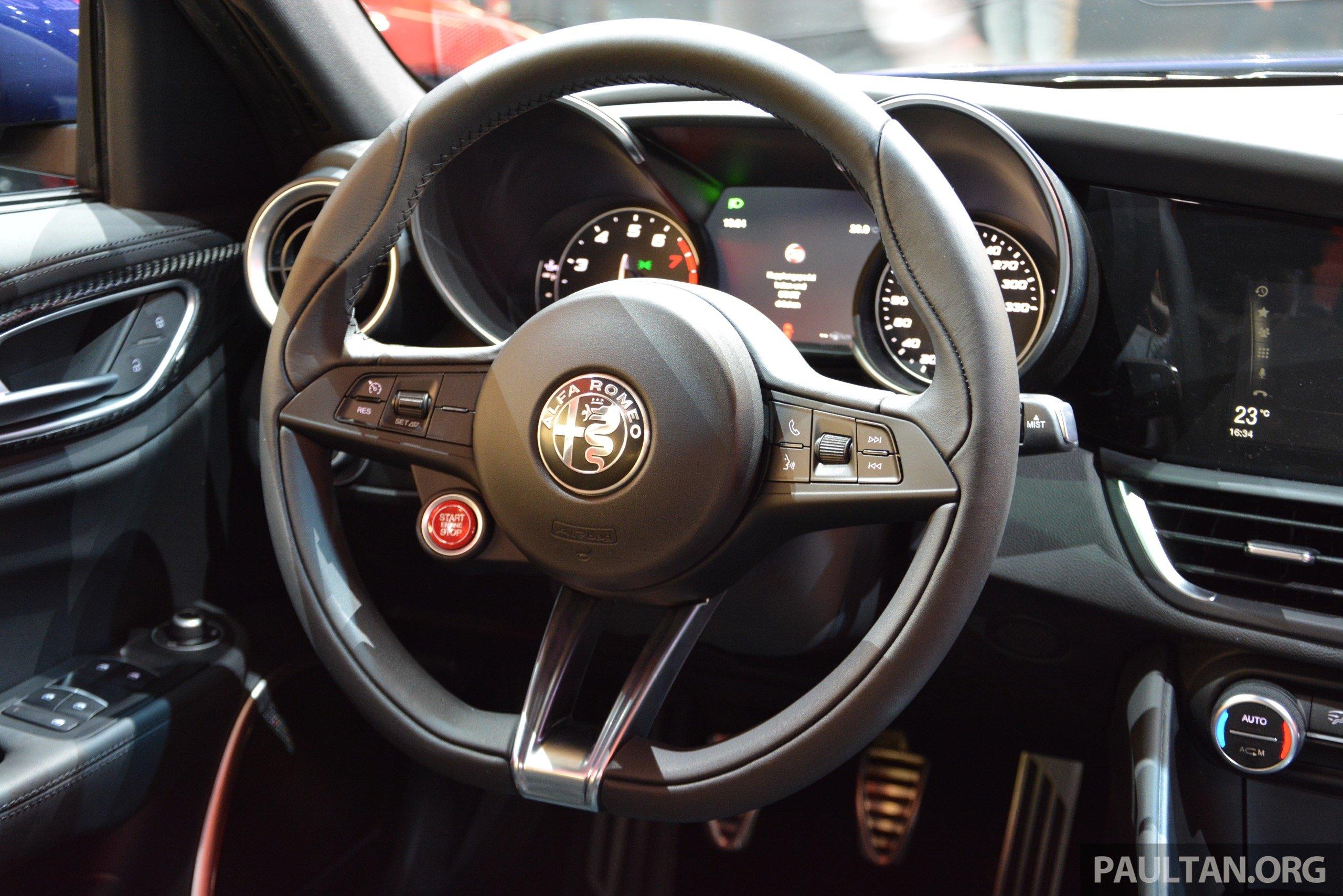 Frankfurt 2015: Alfa Romeo Giulia Quadrifoglio makes first ...