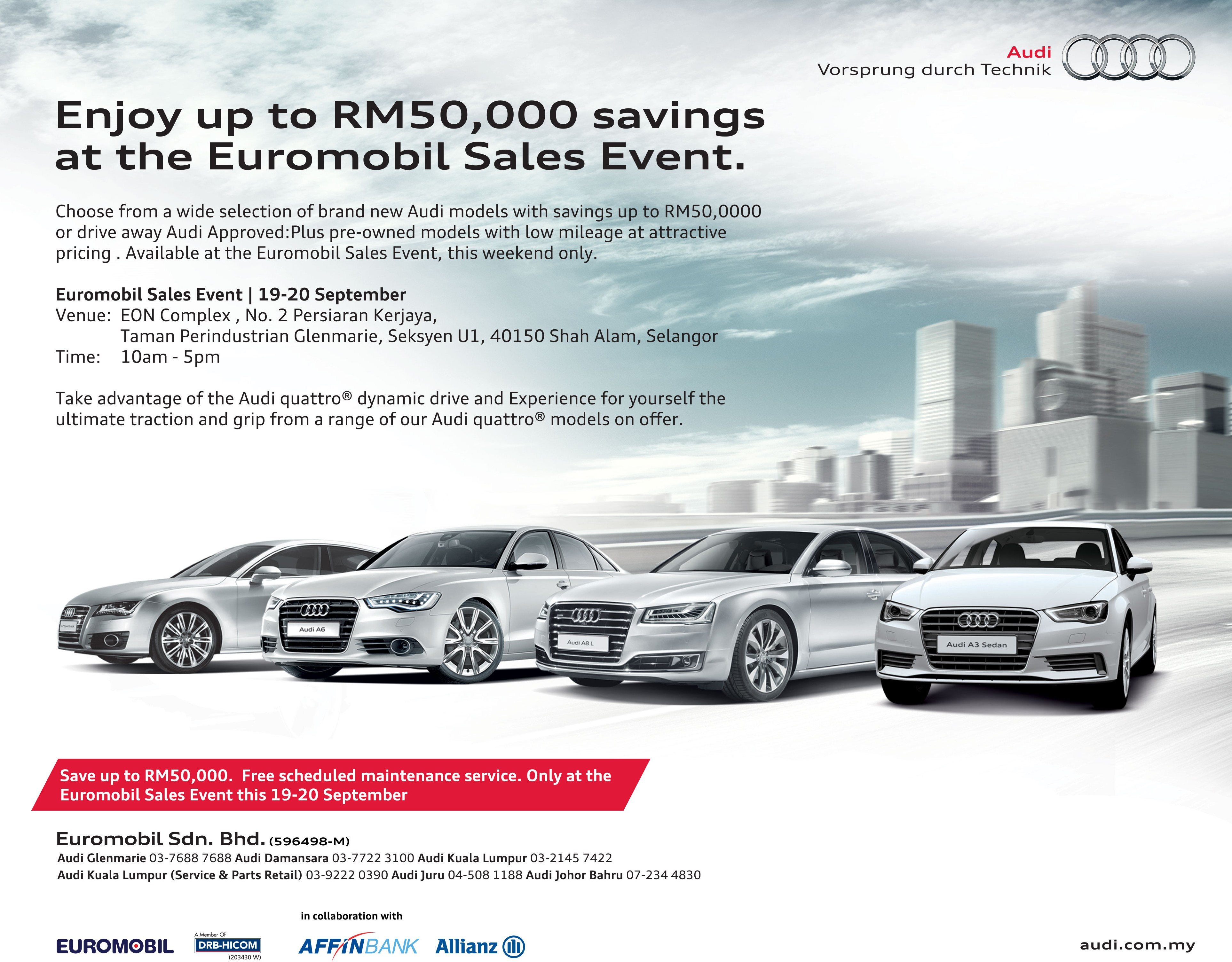 sales watch youtube suncoast spring event audi of