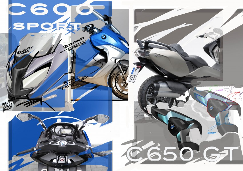 BMW C 650 Sport, C 650 GT maxi scooters revealed Image #382080