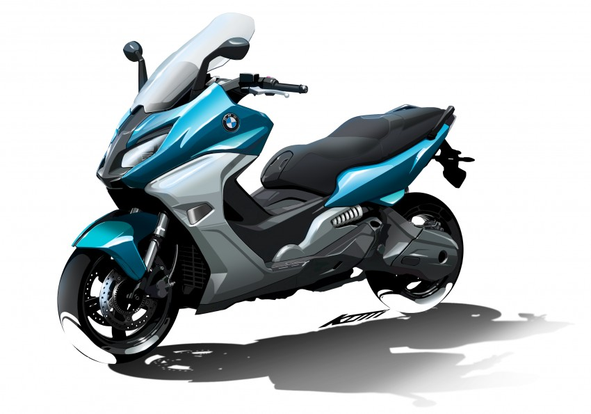 BMW C 650 Sport, C 650 GT maxi scooters revealed Image #382088