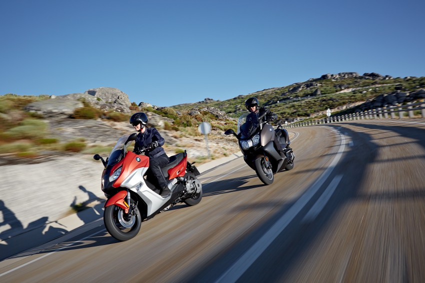 BMW C 650 Sport, C 650 GT maxi scooters revealed Image #382033