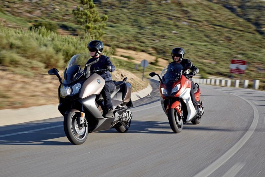 BMW C 650 Sport, C 650 GT maxi scooters revealed Image #382034