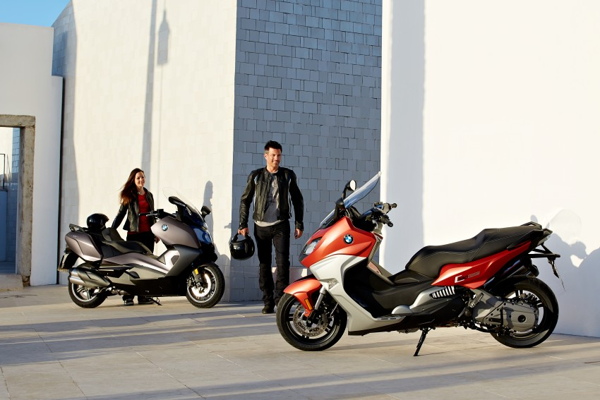 BMW C 650 Sport, C 650 GT maxi scooters revealed Image #381962