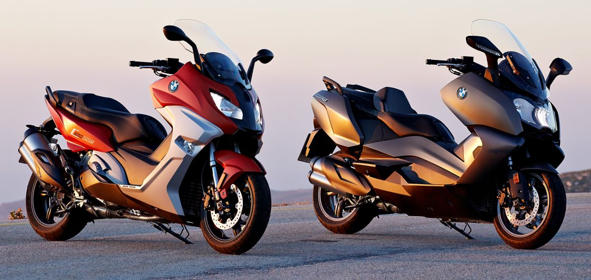 BMW C 650 Sport, C 650 GT maxi scooters revealed