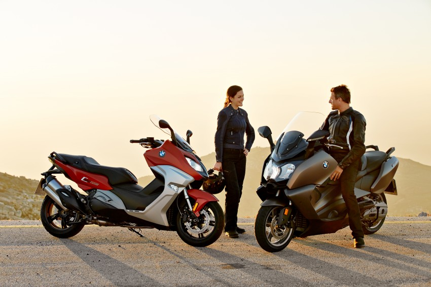 BMW C 650 Sport, C 650 GT maxi scooters revealed Image #381964